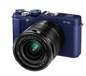 X-A1_Blue_Front_Left_16-50mm