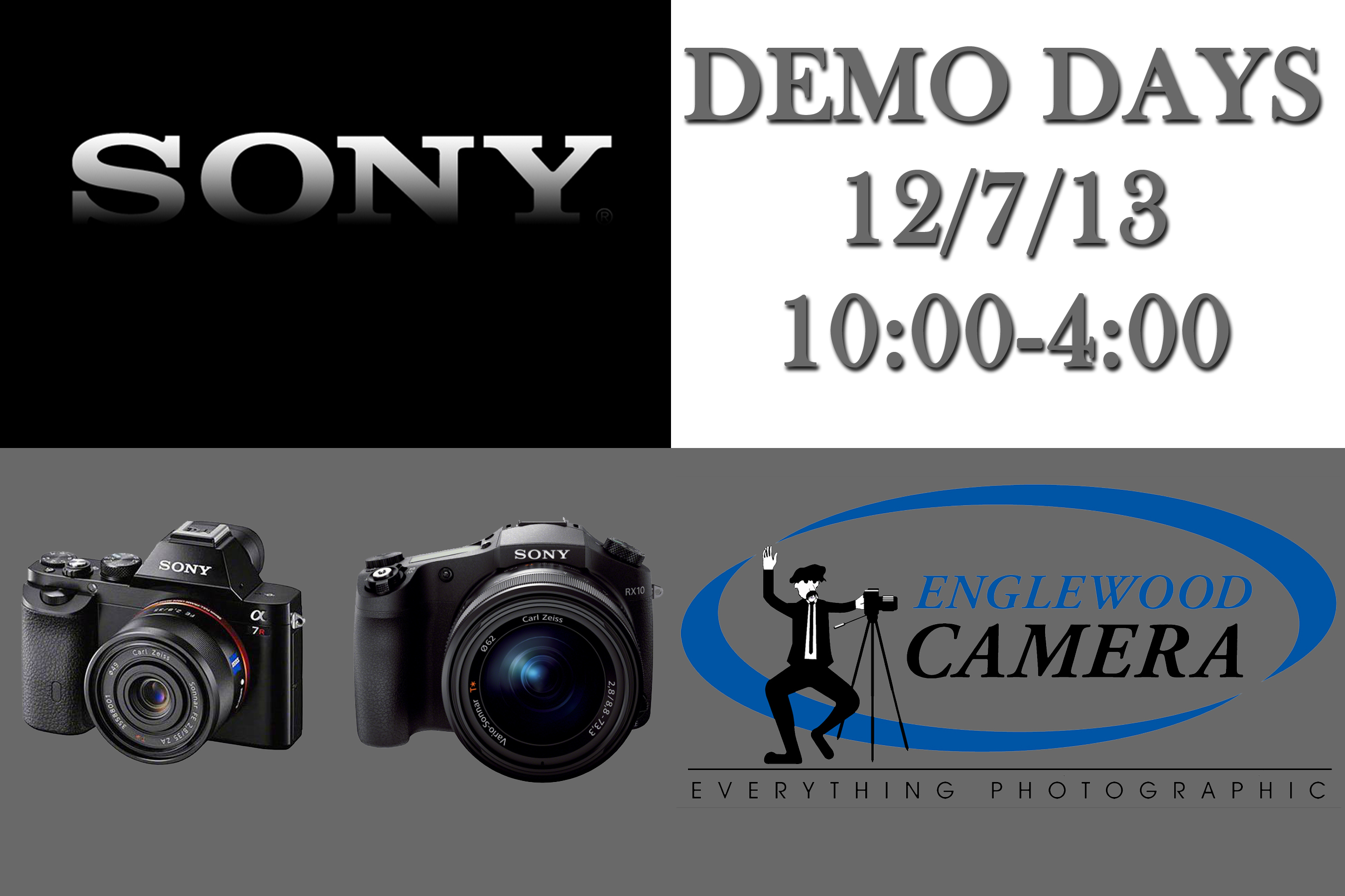 Sony Demo Days at Englewood Camera!