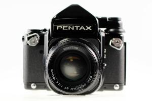 Pentax 67 w/ 105mm f/2.4