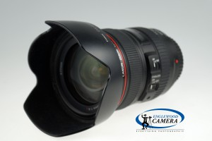 Canon EF 24-105mm f/4L IS USM with hood