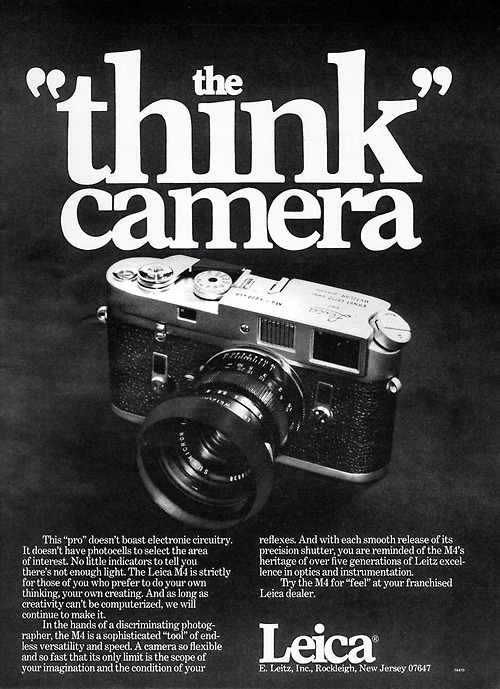 Throwback Thursday: Vintage Camera Ads