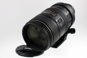 Nikkor AF 80-400mm f/4.5-5.6G VR with lens hood