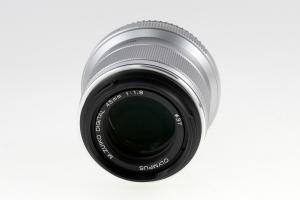 Olympus M 45mm f/1.8 -  Silver