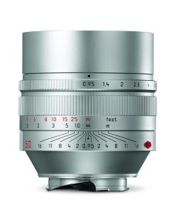 Leica Noctilux-M_silver_front
