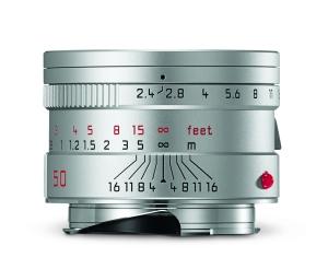 Leica Summarit-M_50_silver_front.