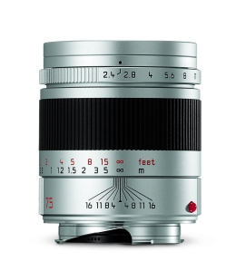 Leica Summarit-M_75_silver_front