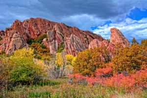October in Roxborough Park, Stan Obert