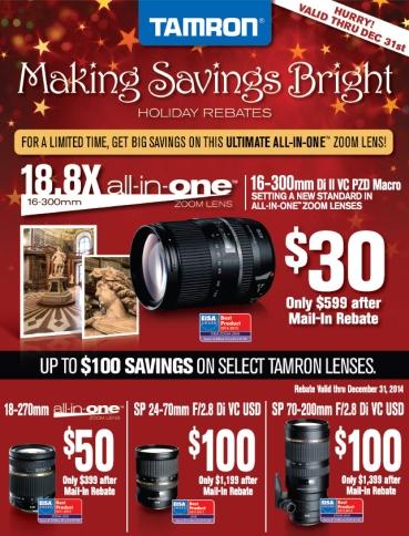 Tamron-Savings