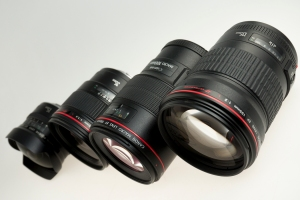Canon prime lenses available: we have 15mm Fisheye, 35mm f/1.4L, 100mm f/2.8L IS Macro, and 135mm f/2L!