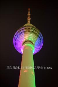 The Fernsehturm (TV Tower) at Alexander Platz; Berlin, Germany 2015