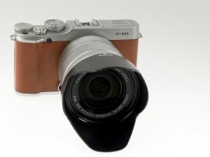 Fujifilm X-M1 Brown w/ 16-50mm