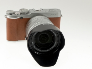 Fujifilm X-M1 Brown w/ 16-50mm