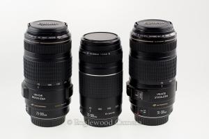 Select Canon EF telephoto lenses